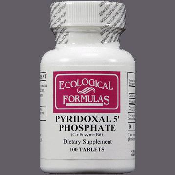 Pyridoxal 5-Phosphate 20mg 100tabs by Ecological Formulas 1