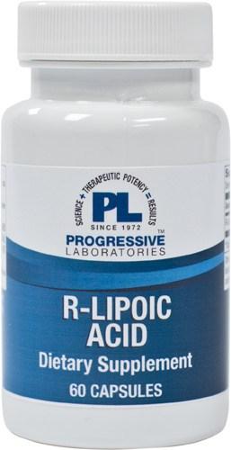 R-Lipoic Acid 100mg 60c by Progressive Labs 1