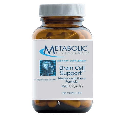 Brain Cell Support by Metabolic Maintenance