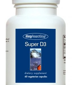 Super D3 60vcaps By Allergy Research Group
