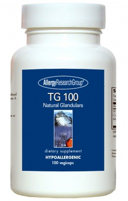 Tg 100 Organic Glandular 100vcaps By Allergy Research Group