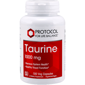 taurine extra strength 1000 mg 100 caps by protocol