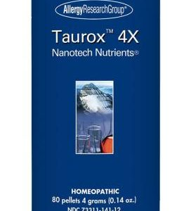 Taurox 4x 80 Pellets 4 Grams (0.14 Oz.) By Allergy Research Group