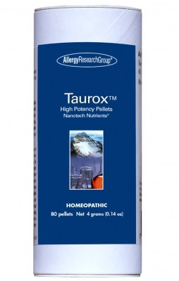Taurox High Potency 80 Pellets 4 Grams By Allergy Research Group