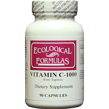 Vitamin C-1000 from Tapioca 90c by Ecological Formulas 1