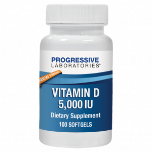 Vitamin D 5000 Iu 100c By Progressive Labs