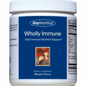 Wholly Immune Powder 300grams By Allergy Research Group