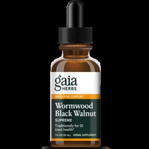 wormwood black walnut supreme 1oz by gaia herbs