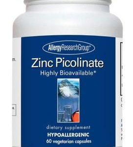Zinc Picolinate 60vcaps By Allergy Research Group
