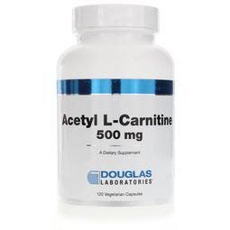 Acetyl L-Carnitine 500 mg 120 caps by Douglas Laboratories