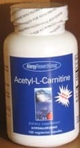 Acetyl-L-Carnitine 500mg 100c by Allergy Research Group