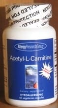 Acetyl L-Carnitine 250mg 60c by Allergy Research Group
