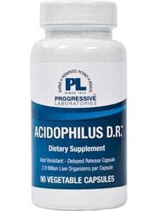 Acidophilus 280 mg 90c by Progressive Labs