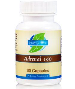 Adrenal 160mg 60c by Priority One