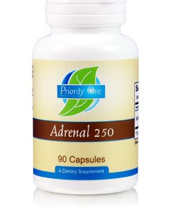 Adrenal 250mg 90c by Priority One