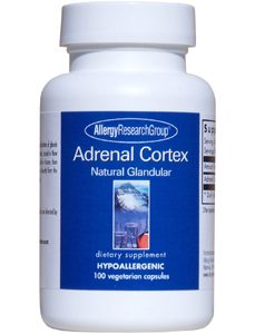 Adrenal Cortex 250 mg 100 vcaps by Allergy Research Group