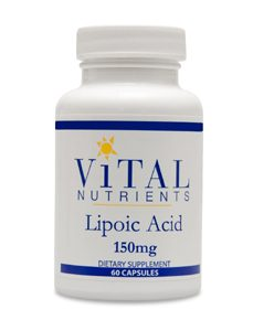 Alpha Lipoic Acid 150mg 60c by Vital Nutrients
