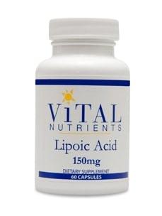 Alpha Lipoic Acid 150mg 60c by Vital Nutrients