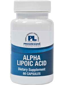 Alpha Lipoic Acid 200mg 60c by Progressive Labs