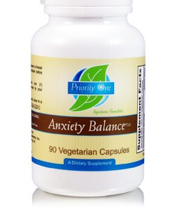 Anxiety balance (Control) 90c by Priority One