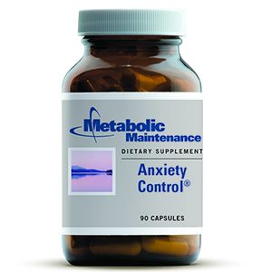 Anxiety Control 90 Capsules by Metabolic Maintenance