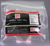 Astra Diet Tea (16 tea bags) by Health Concerns