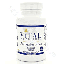 Astragalus Extract 300mg 90c by Vital Nutrients