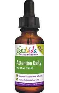 Attention Daily Herbal Drops (Gaia Kids) 1oz by Gaia Herbs