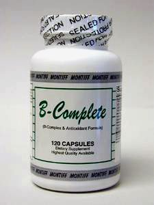 B-Complete 120 capsules by Montiff