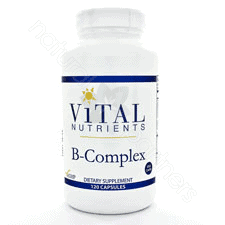 B-Complex 120c by Vital Nutrients