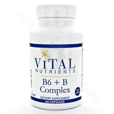 B-Complex w/ High B-6 60c by Vital Nutrients