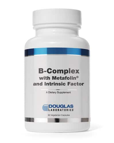 B Complex w/ Metafolin 60c by Douglas Labs