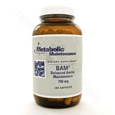B.A.M. (Balanced Amino Maint) 180c by Metabolic Maintenance