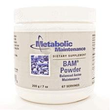 B.A.M. (Balanced Amino Maint) Powder 200g by Metabolic Maintenance
