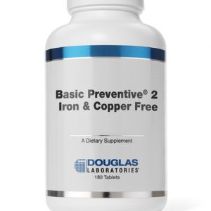 Basic Preventive 2 with Gland (Copper & Iron Free) 180t by Douglas Labs