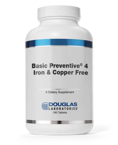 Basic Preventive 4 180t by Douglas Laboratories