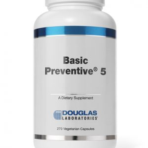 Basic Preventive 5 Iron Free 180t by Douglas Labs