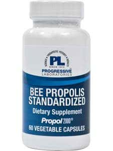 Bee Propolis/Standardized 60c by Progressive Labs