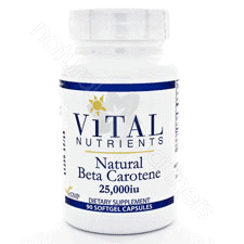 Beta Carotene Natural 25