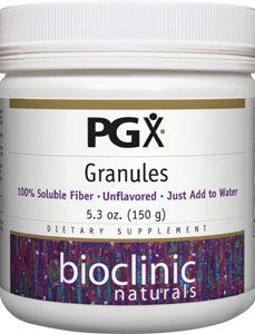 PGX Granules Fiber Unflavored 150 gms by Bioclinic Naturals