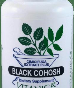 Black Cohosh 120c by Vitanica
