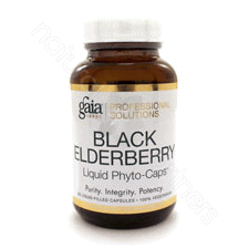 Black Elderberry 60c by Gaia Herbs
