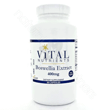 Boswellia 400mg 90 vcaps by Vital Nutrients