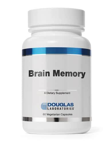 Brain Memory Revised 60c by Douglas Labs