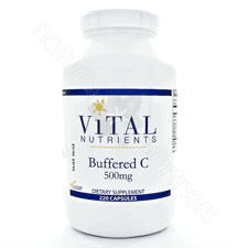 Buffered C 500mg 220c by Vital Nutrients