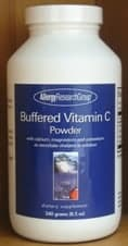 Buffered C Powder(beet source) 240g  by Allergy research Group