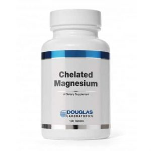 Chelated Magnesium 100t by Douglas Laboratories