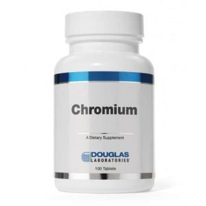 Chromium 1mg 100t by Douglas Laboratories