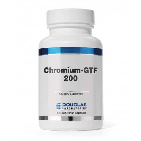 Chromium GTF 200 100c by Douglas Laboratories