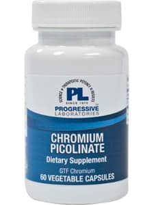 Chromium Picolinate-V 60vcaps by Progressive Labs